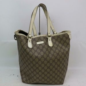 Auth Gucci Tote Bag Vintage #930G63